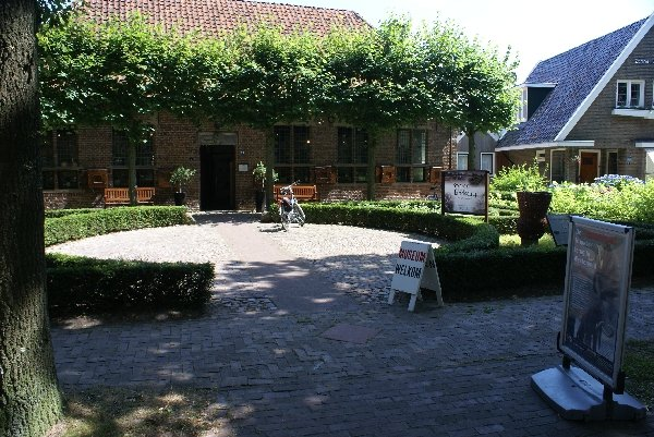 The archaeological museum in Diever