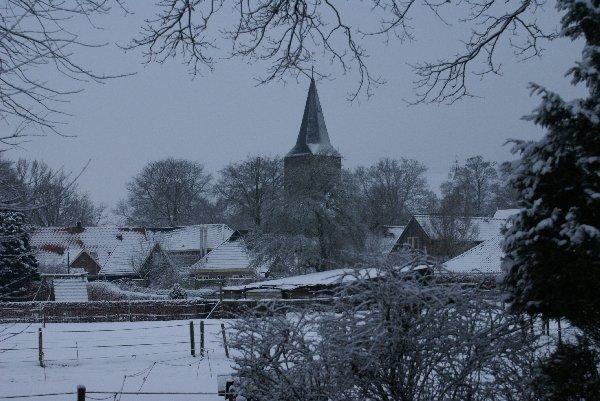 Diever in de winter