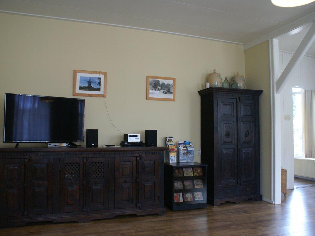 Grote woonkamer met SMART tv, blu-ray speler