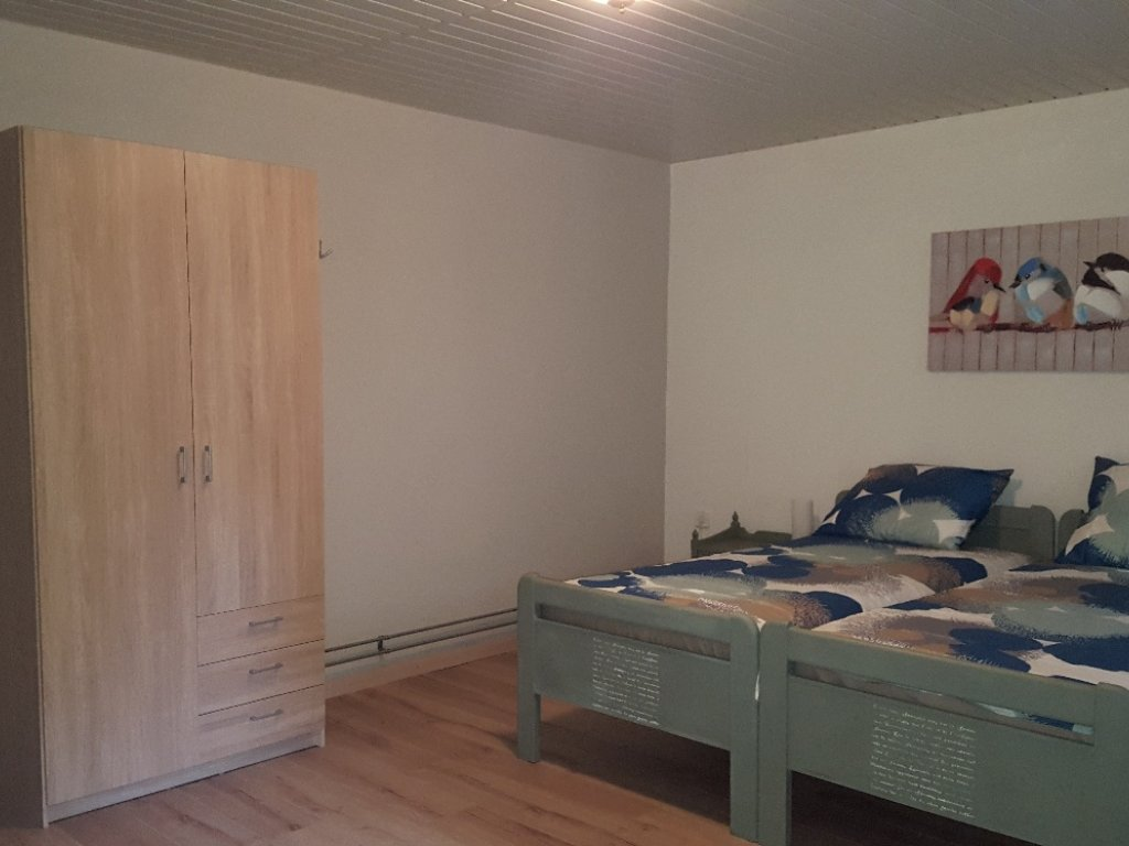 Zeer ruime slaapkamer
