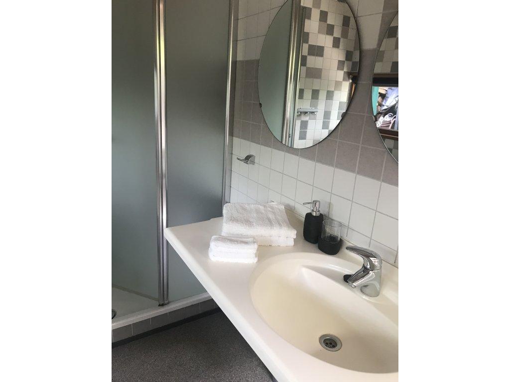 badkamer incl douche en toilet